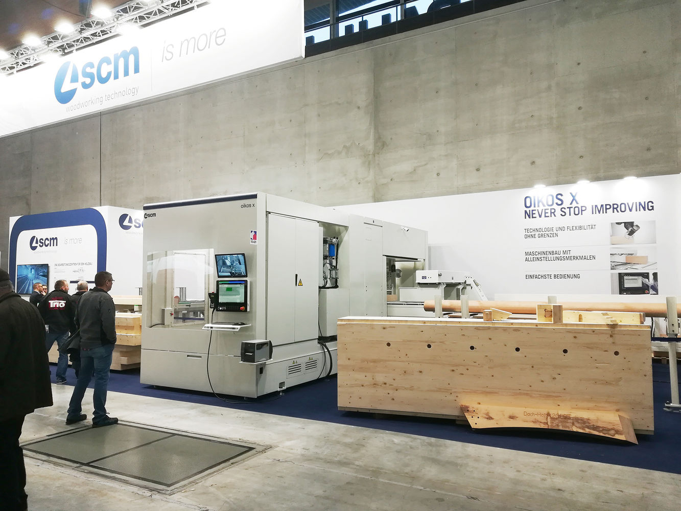 Scm at Dach+Holz: a new era for timber construction