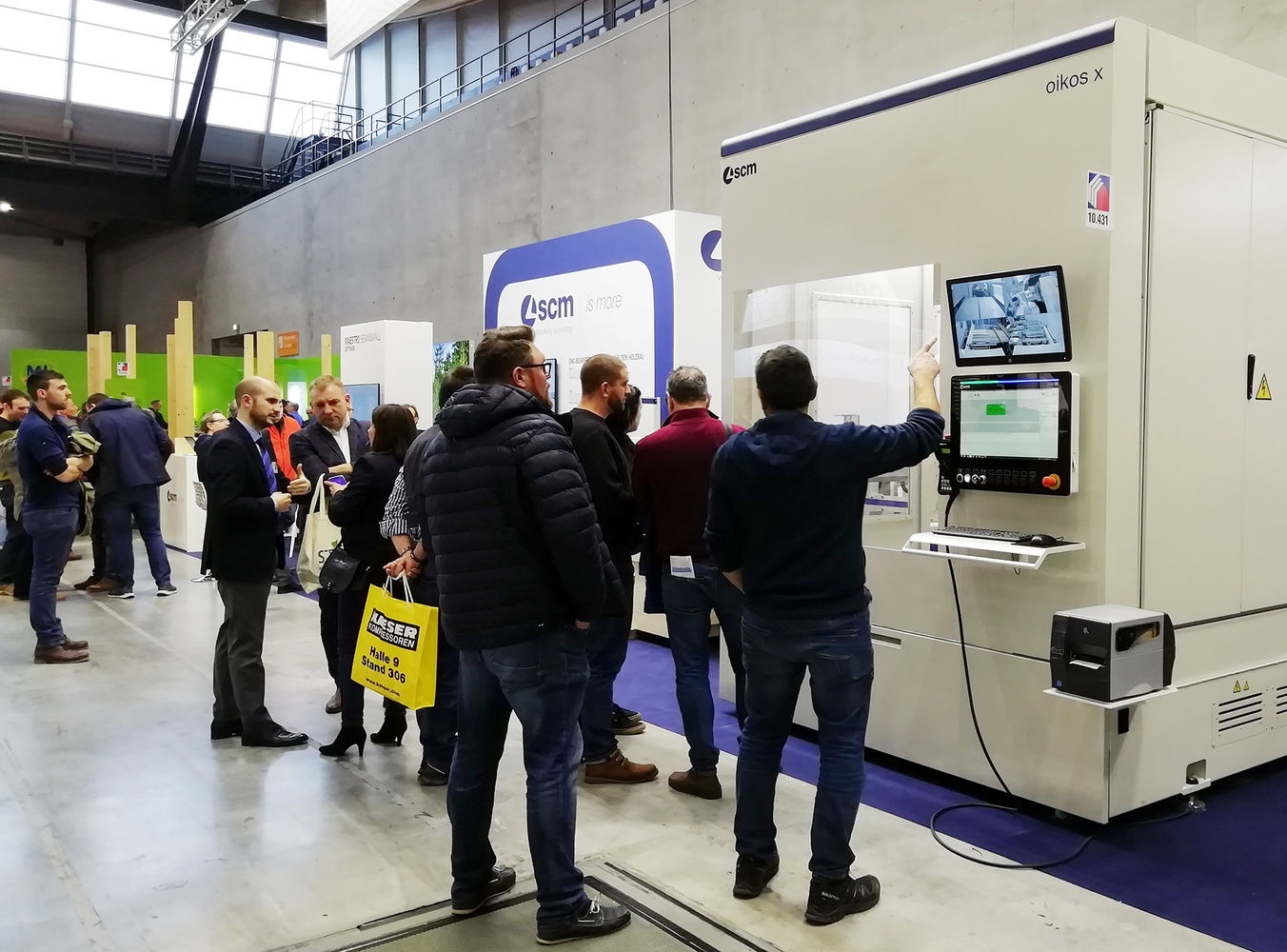Dach+Holz se poursuit avec une affluence record au stand SCM