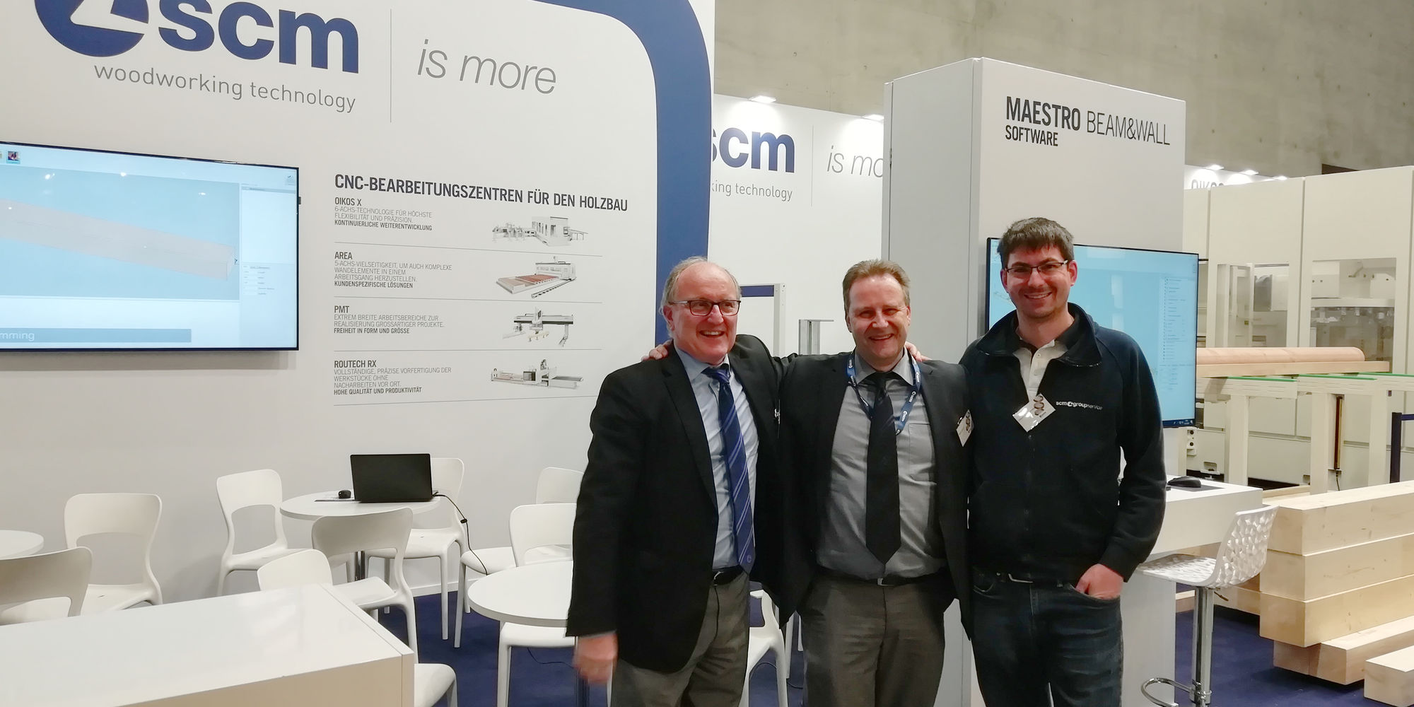 From Dach+Holz to the Holzbau Forum: SCM's know-how on the development of timber construction