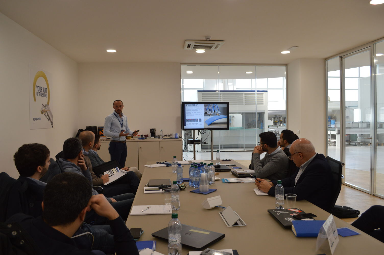 """Surface Technologies"": SCM, Superfici and Henkel cross training"