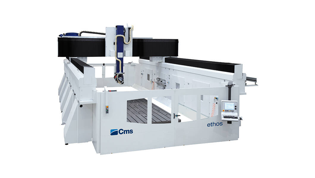 5-axis CNC machining centers for milling and drilling - Gantry CNC machining centers for large-size work areas - ethos