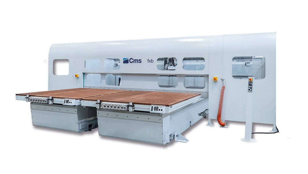 5-axis CNC machining centers for milling and drilling - Fixed and mobile bridge CNC machining centers - fxb