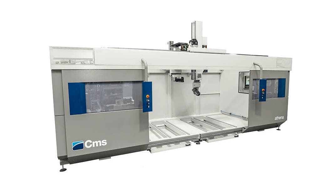 CNC machining centers - 5-axis CNC machining centers, passage in Z from 500 mm - athena
