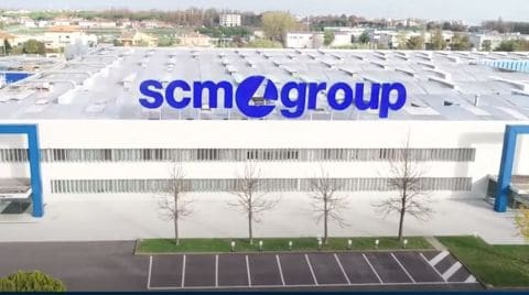Scm Group Factory tour