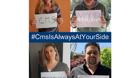 CMS is always at your side