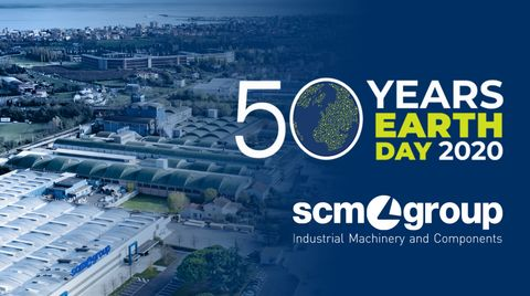 Earth Day 2020: Scm Group for sustainable innovation