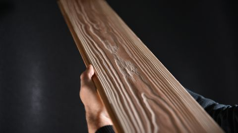 SCM's offer on pressing and sanding for a quality, modern parquet