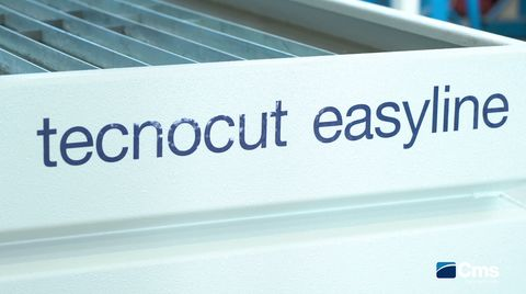 Endless capacity with unlimited waterjet power: 6200 bar on tecnocut easyline