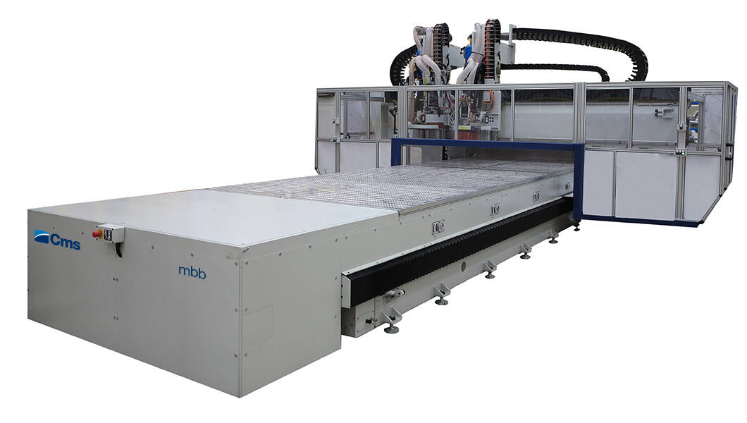 5-axis CNC machining centers for milling and drilling - Fixed and mobile bridge CNC machining centers - mbb