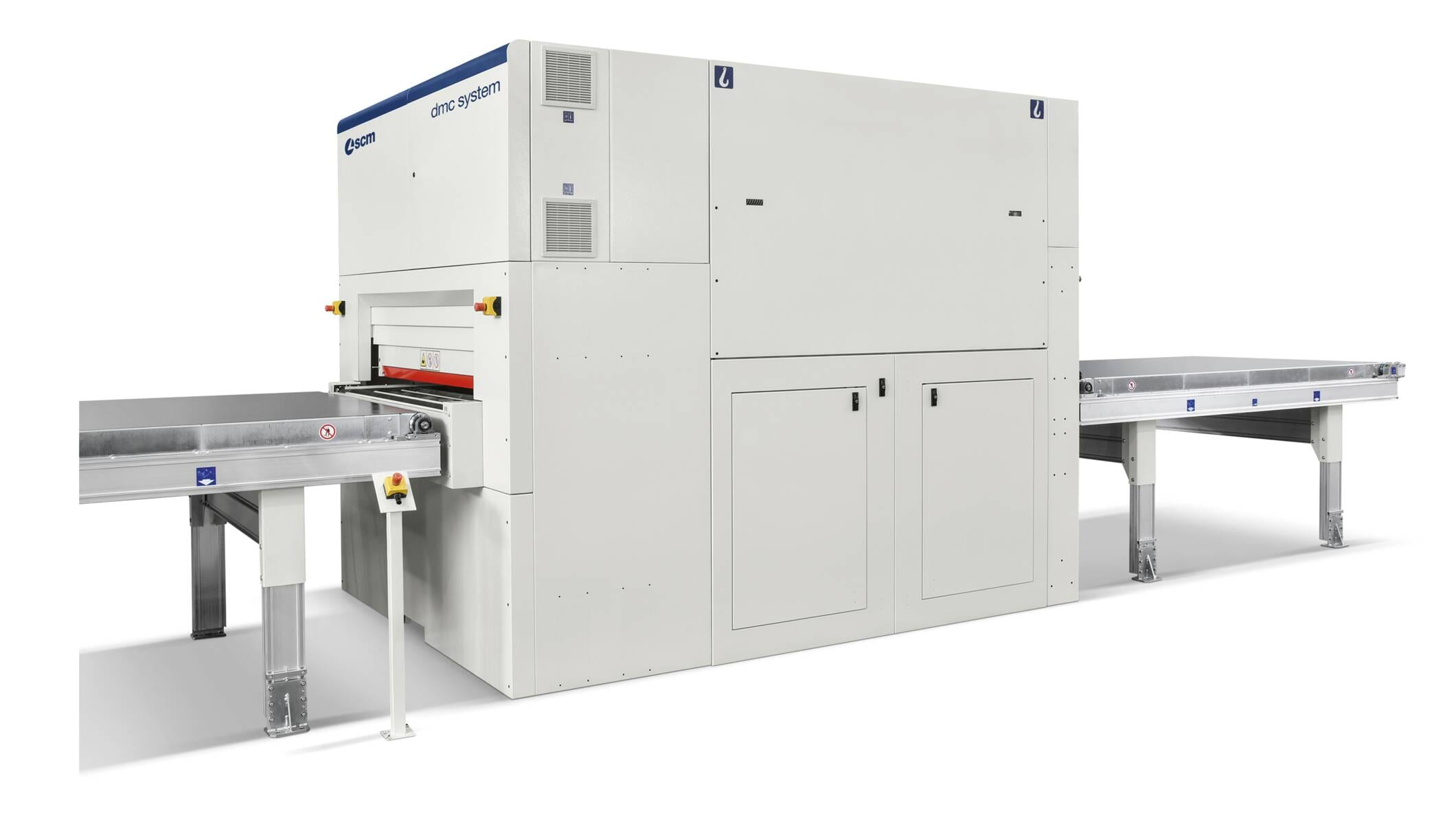 Wide belt sanders - Automatic sanding and calibrating machines - dmc system b
