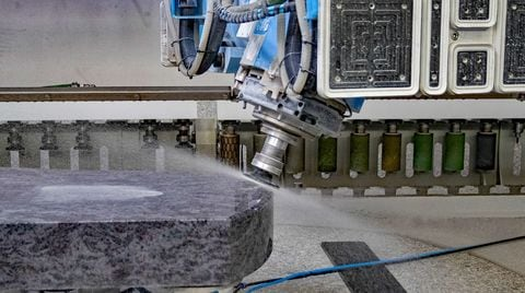 Would you like your bridge cutter to work to its maximum efficiency? Discover the CMS Stone Technology solutions.