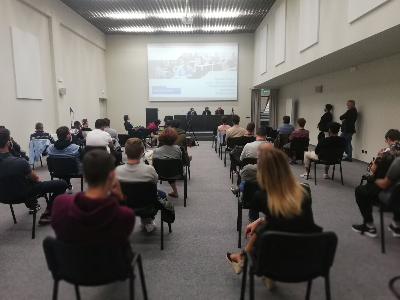 Scm Group ospita l'Open day di Fondazione ITS Maker