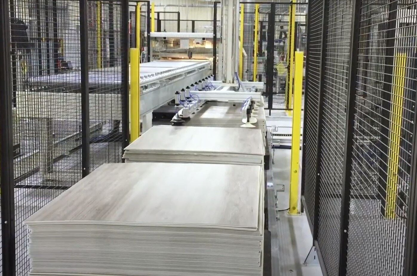 PVC flooring: all the advantages of SCM's automatic profiling line