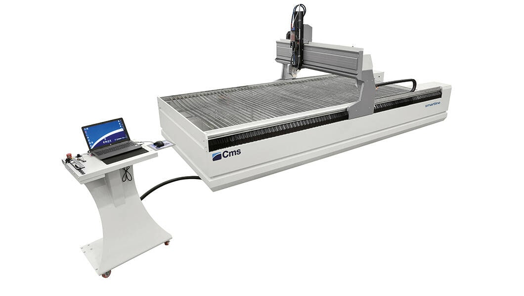 Complete waterjet cutting systems - Waterjet cutting machines - smartline